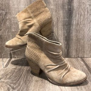 Splendid suede studded boots